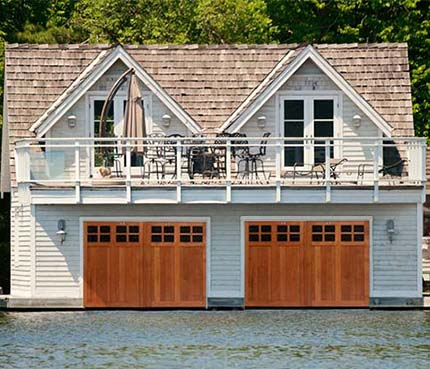 Boathouse Doors NH
