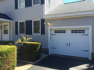 NH garage door replacement (after photo)