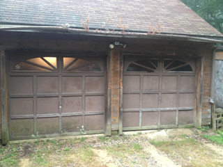 NH garage door replacement (before photo)