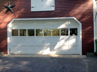Garage door replacement Concord NH (before photo)