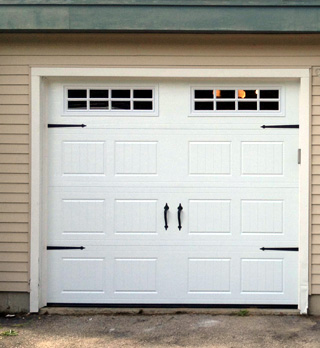 Concord NH garage door replacement (after photo)