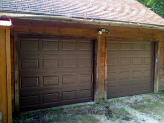 Garage door replacement (after photo)